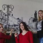 Осликавање зидова школе